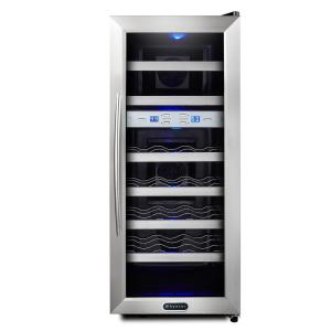 Click here to buy Whynter 21-Bottle Dual Zone Wine Cooler by Whynter.