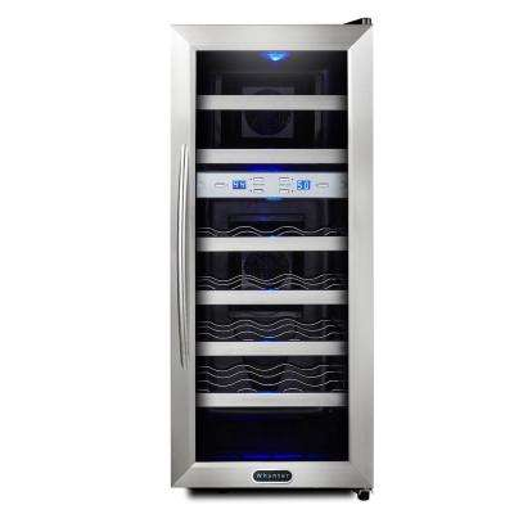 21-Bottle Dual Zone Wine Cooler