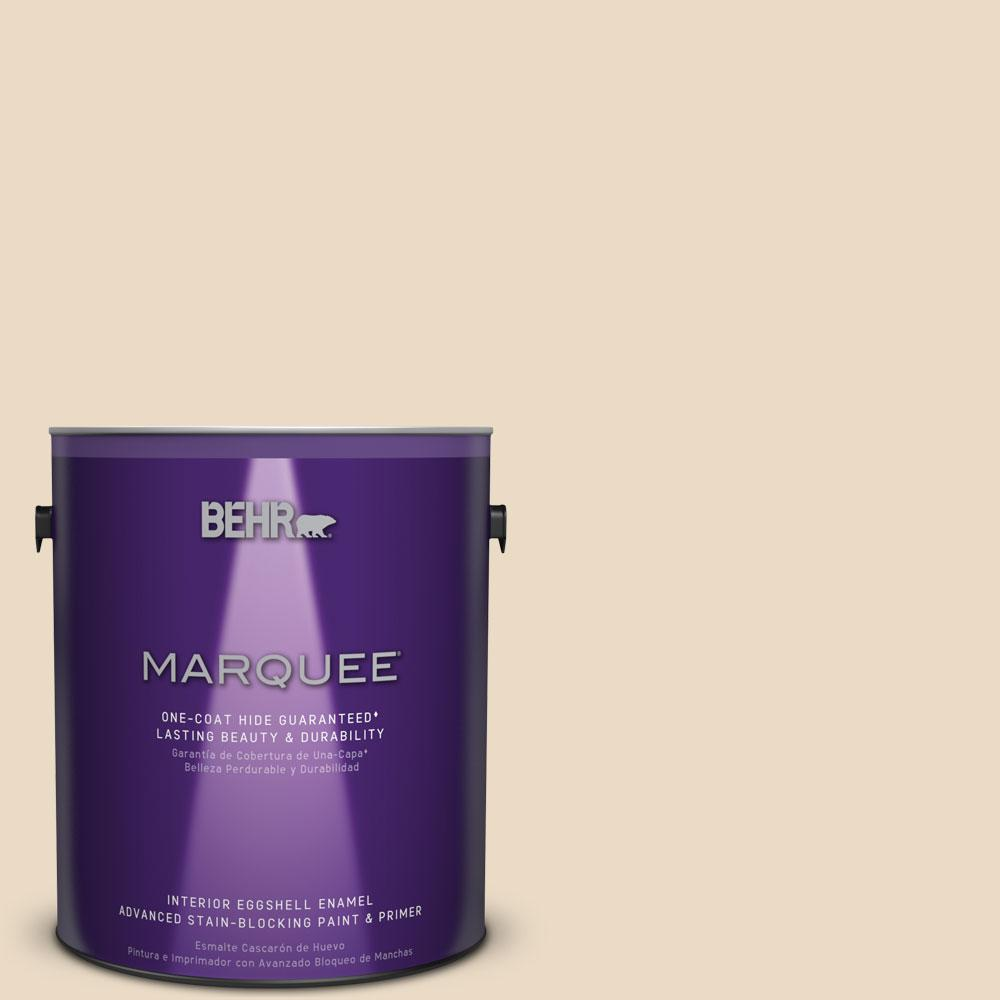 1 gal. #MQ3-41 Moongaze Eggshell Enamel One-Coat Hide Interior Paint and