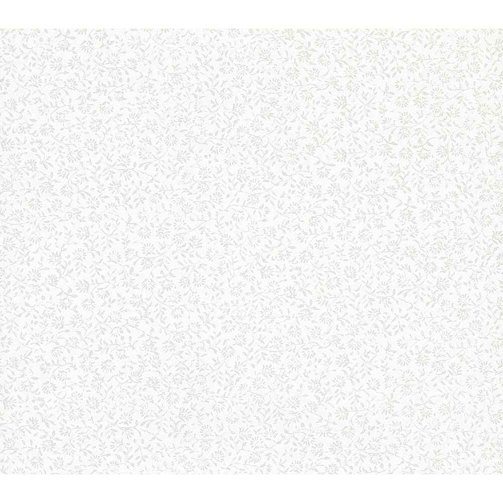 Rosaline Off-White Miniature Floral Wallpaper