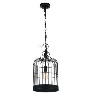 Merrie 1-Light Black Pendant