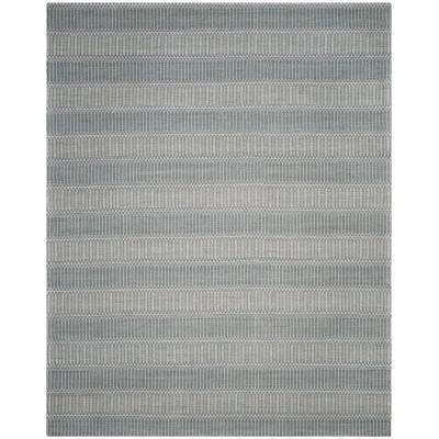 Marbella Silver 8 ft. x 10 ft. Area Rug