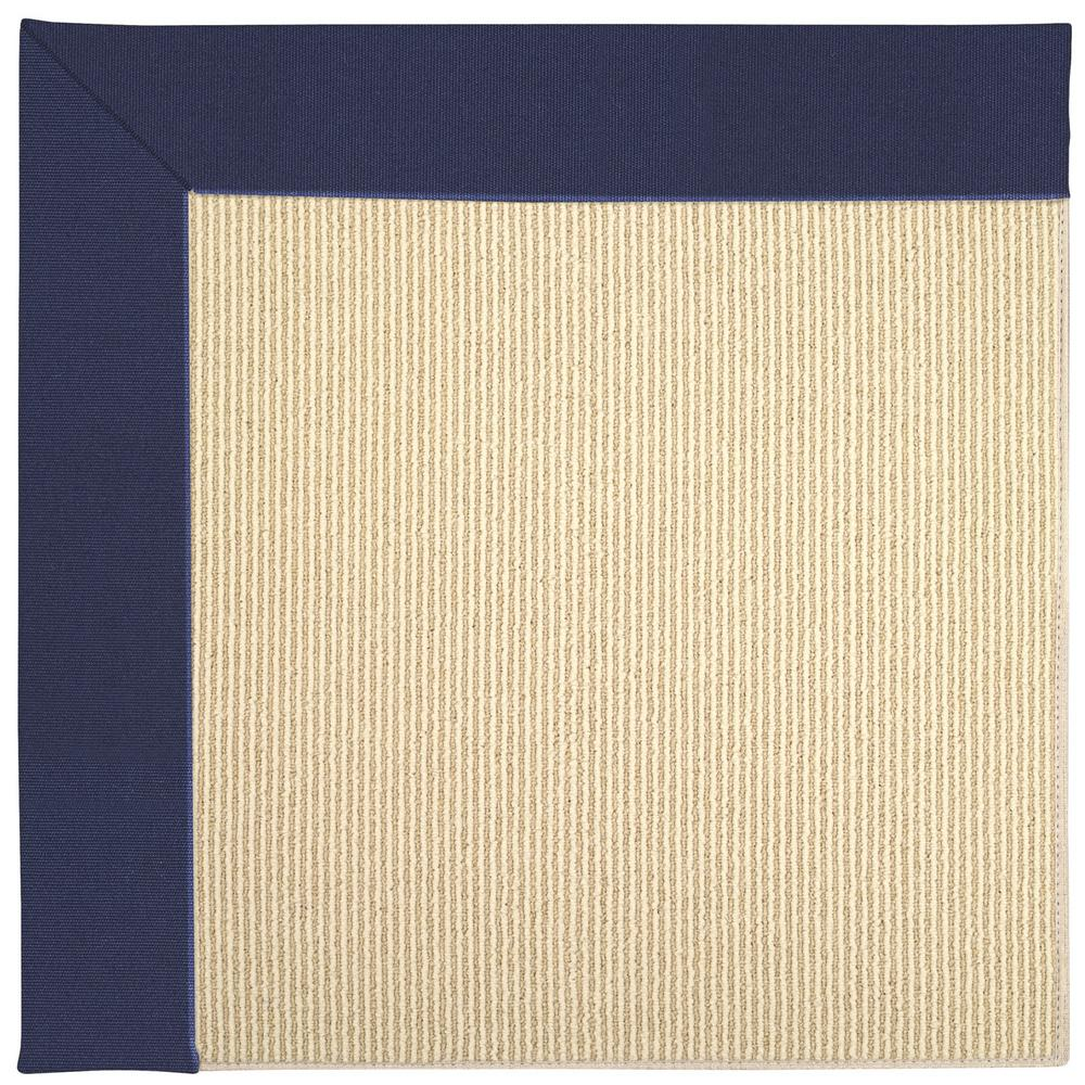 Capel Zoe Beach Sisal Navy 12 Ft X 12 Ft Area Rug