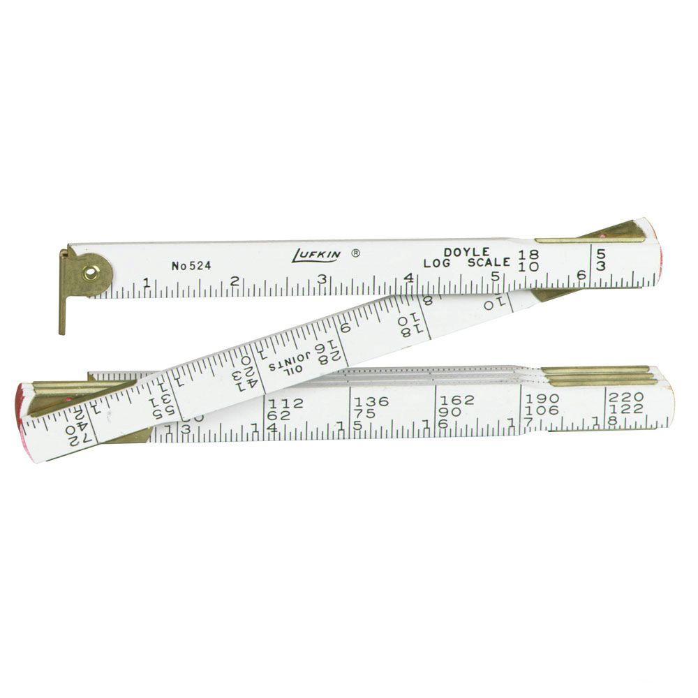 Lufkin 48 in. x 5/8 in. Doyle Log Ruler