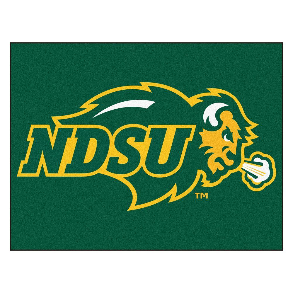 Fanmats Ncaa North Dakota State University Green 3 Ft X 4 Area Rug