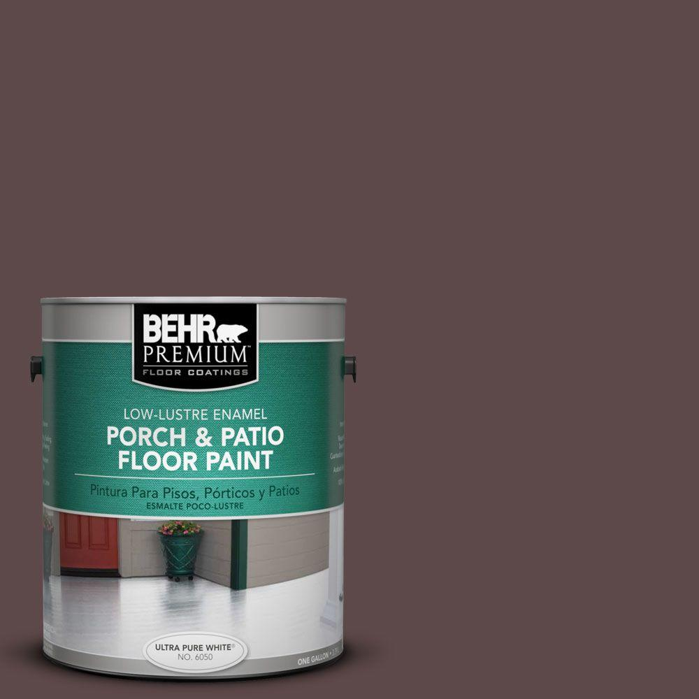 BEHR Premium 1-Gal. #PFC-05 Cafe Iruna Low-Lustre Porch and Patio Floor Paint