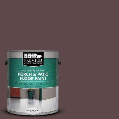1-Gal. #PFC-05 Cafe Iruna Low-Lustre Porch and Patio Floor Paint