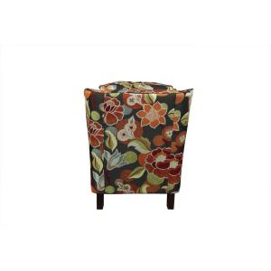 Stupendous Porter Designs Zoe Pub Back Multi Color Floral Accent Chair Caraccident5 Cool Chair Designs And Ideas Caraccident5Info