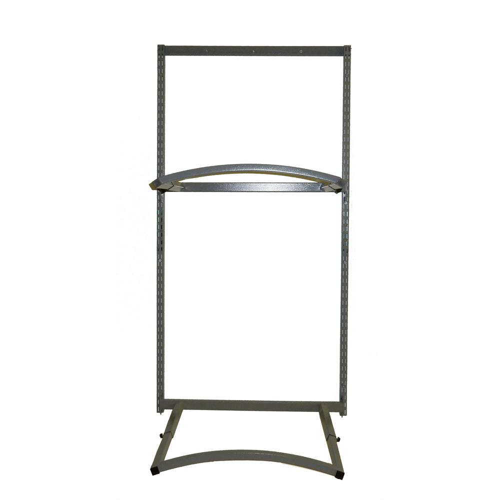 33 in. W Steel Tire Holder Unit