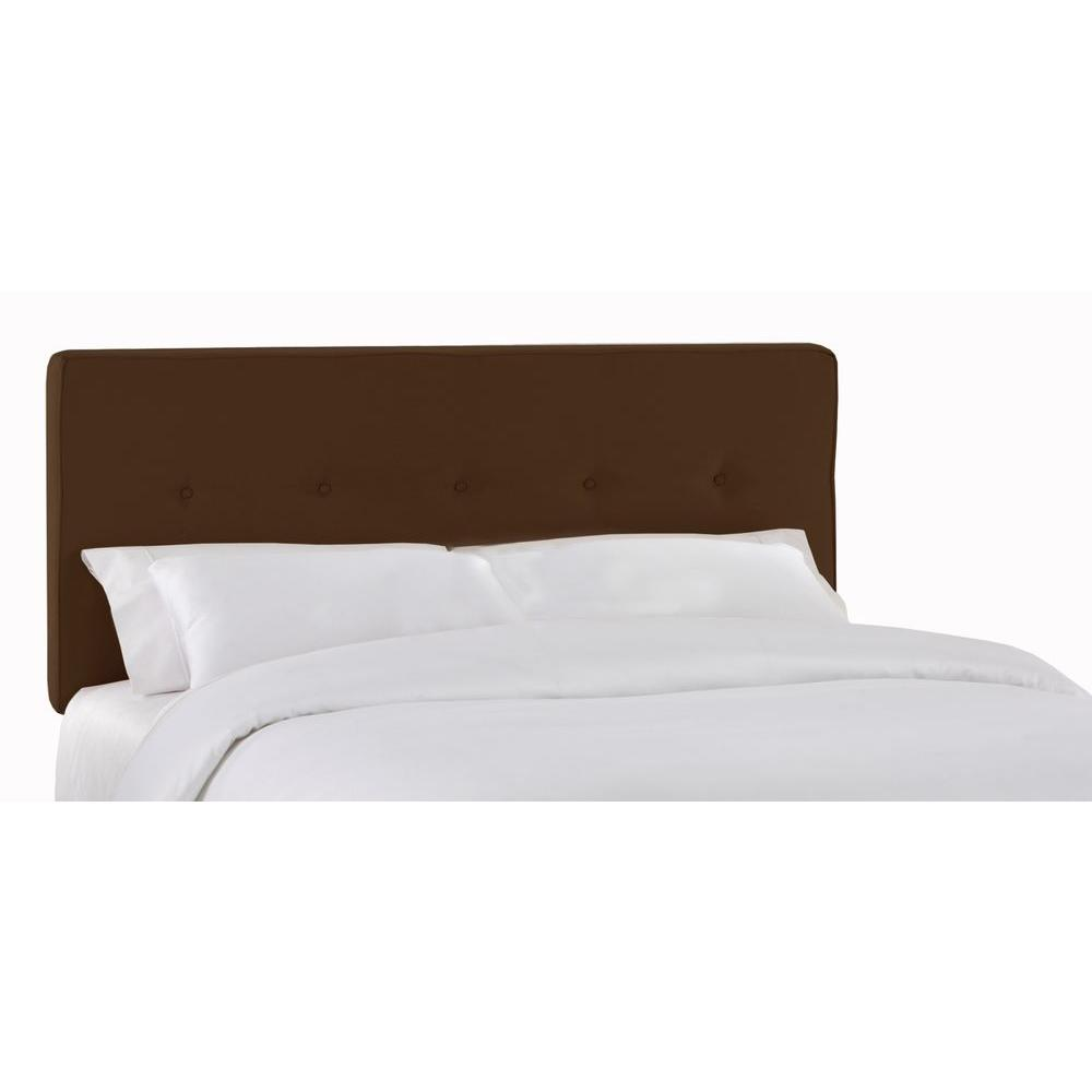 Home Decorators Collection Soho Chocolate Full Headboard 681pchoc The Home Depot