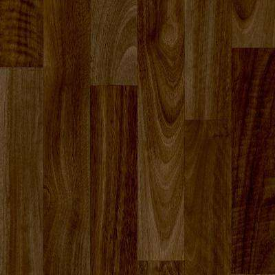 Sable Walnut Natural 13.2 ft. Wide x Your Choice Length Residential Vinyl Sheet Flooring