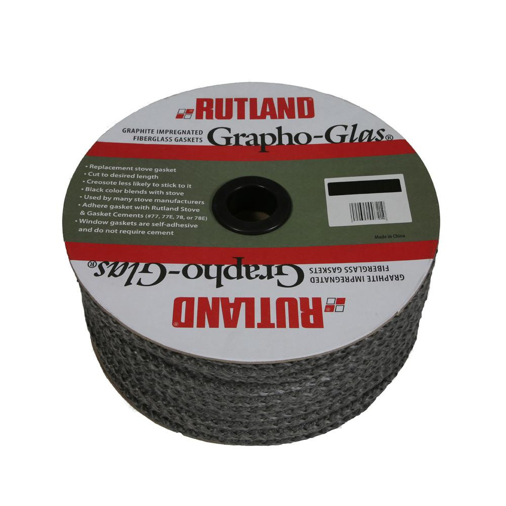 100 ft. x 7/16 in. Graphoglas Gasket Spool Rope
