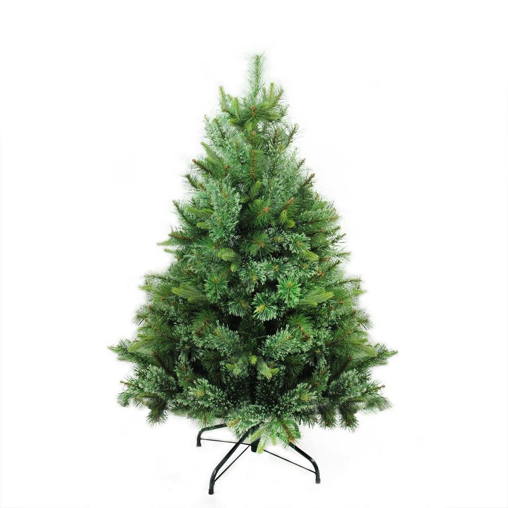 Local Christmas Trees: Northlight 4.5 Ft. X 37 In. Cashmere Mixed Pine Full