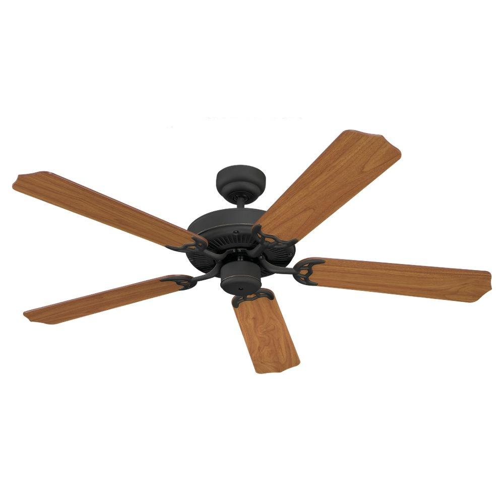 Sea Gull Lighting Quality Max 52 in. Antique Bronze Ceiling Fan-DISCONTINUED