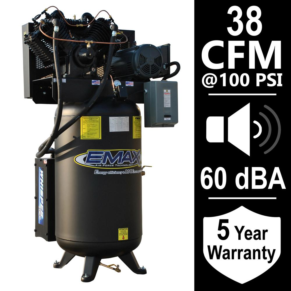 Porter-Cable 60 Gal. Vertical Stationary Air Compressor ... on