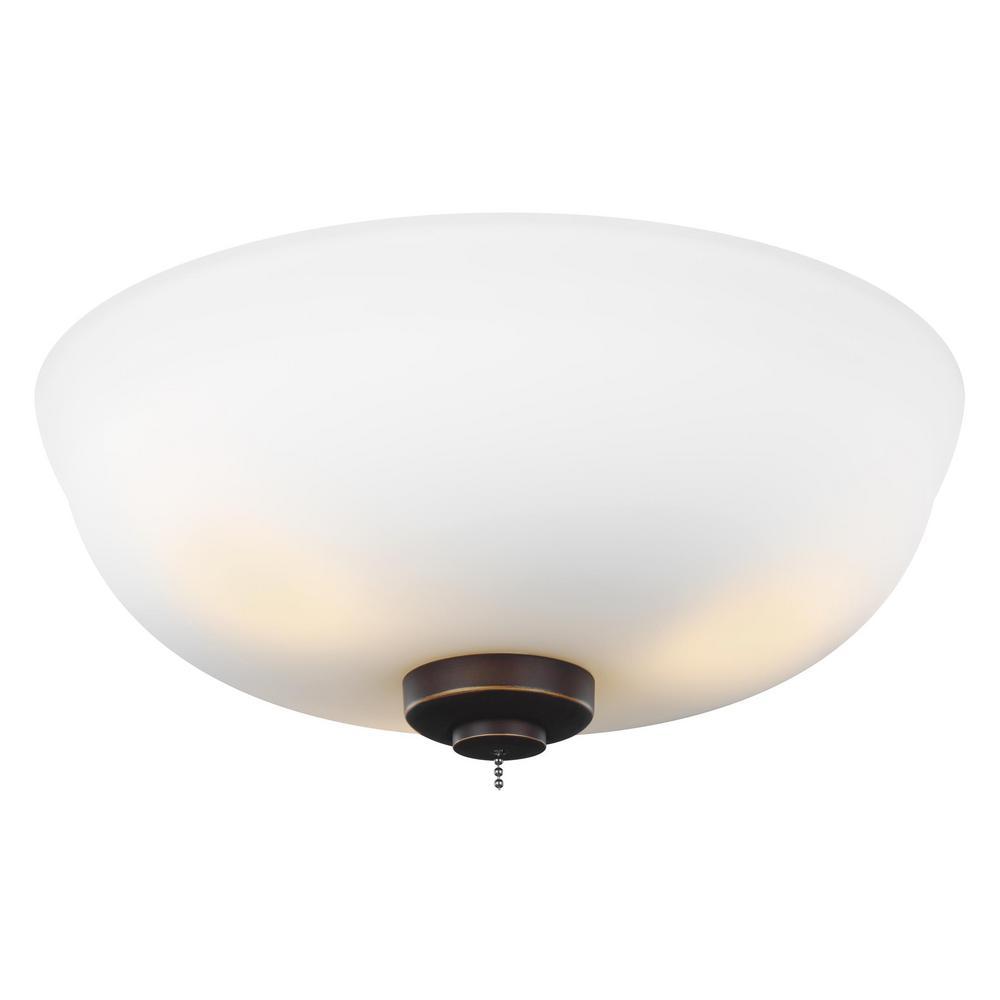 - Monte Carlo 3-Light LED Ceiling Fan Light Kit-MC243RB - The Home Depot