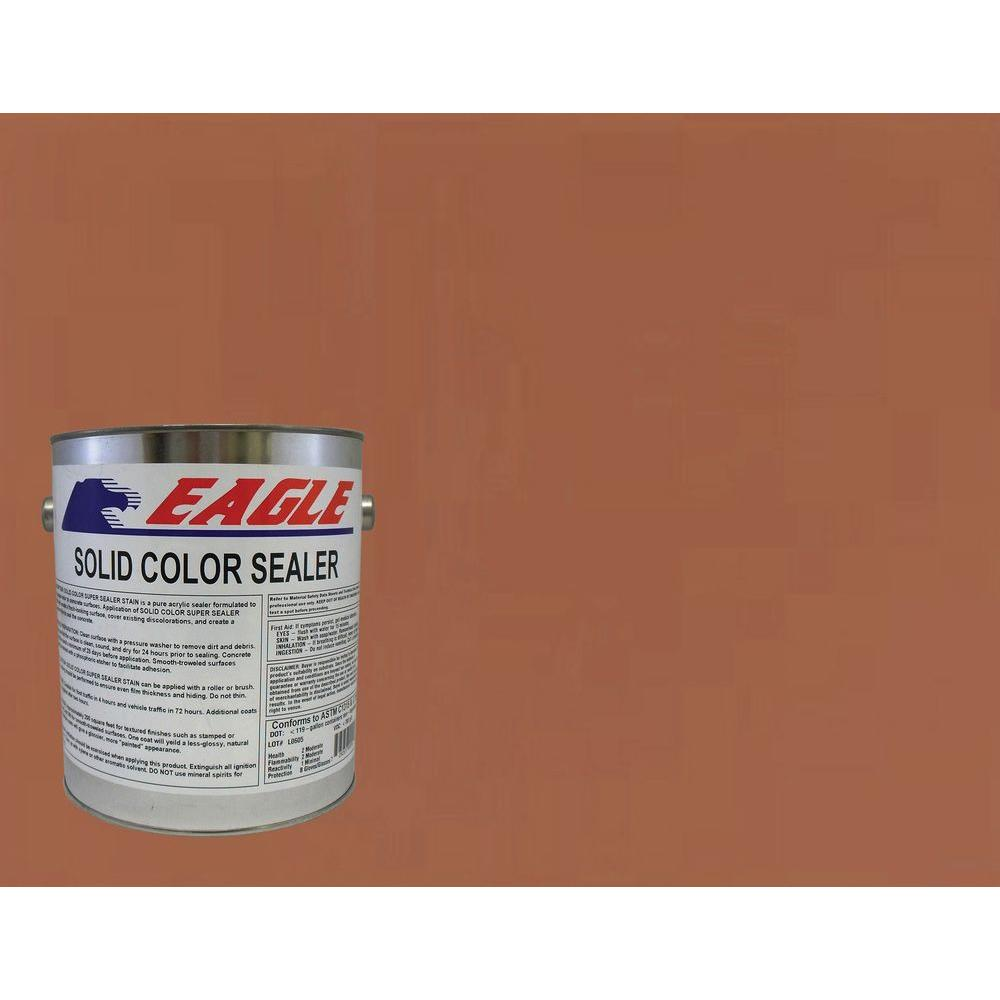 Naturally Red Solid Color Solvent Based Concrete Sealer