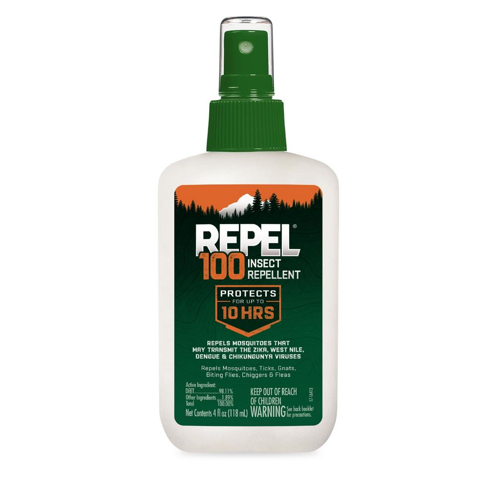 Repel 4 fl. oz. 100 Insect Repellent Pump Spray