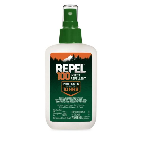 4 fl. oz. 100 Insect Repellent Pump Spray