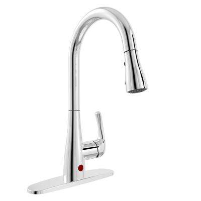 Touchless Kitchen Faucets Kitchen The Home Depot