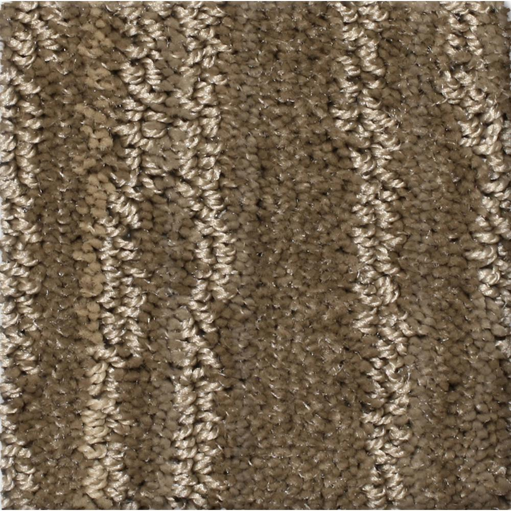 Carpet Sample - Jump Line II - Color Revel Pattern 8