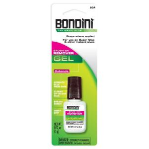 Bondini 0.17 oz. Super Glue Remover Gel Brush-On (12-Pack) by Bondini