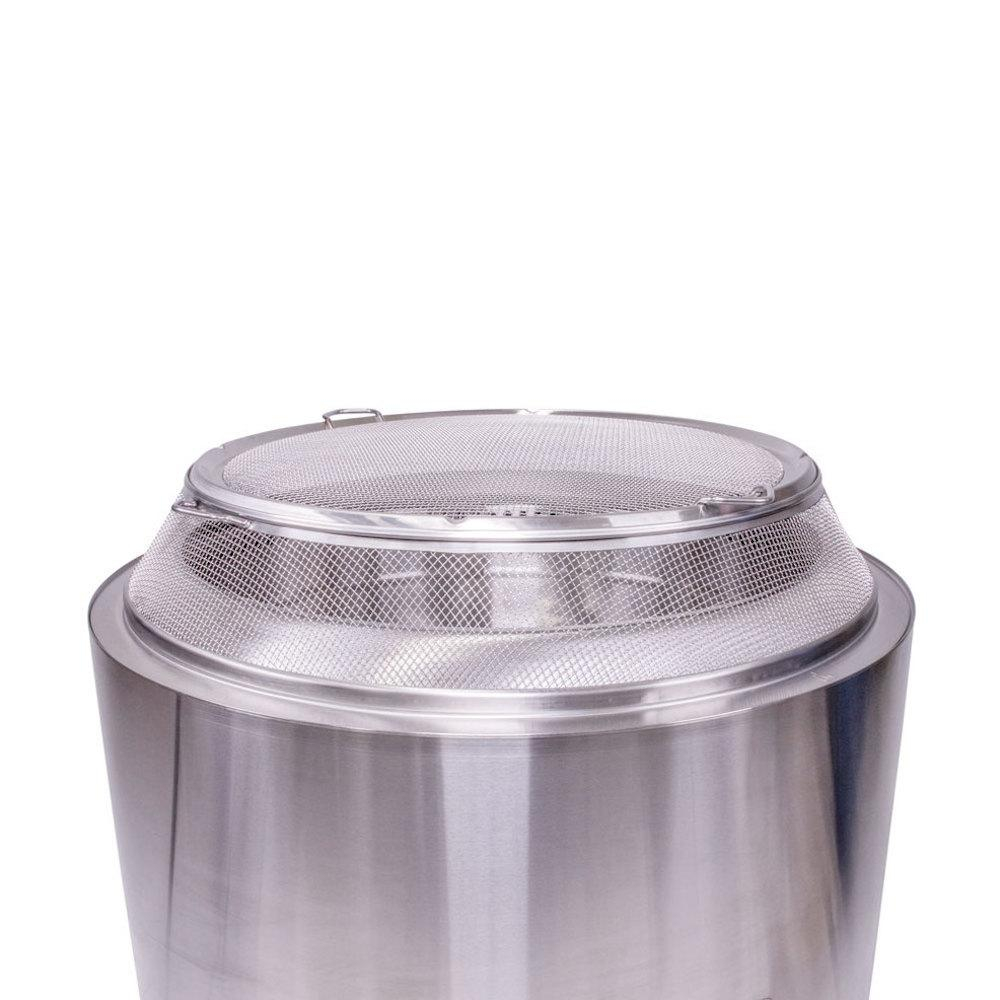 Solo Stove Yukon Shield 27 25 In Round Stainless Steel