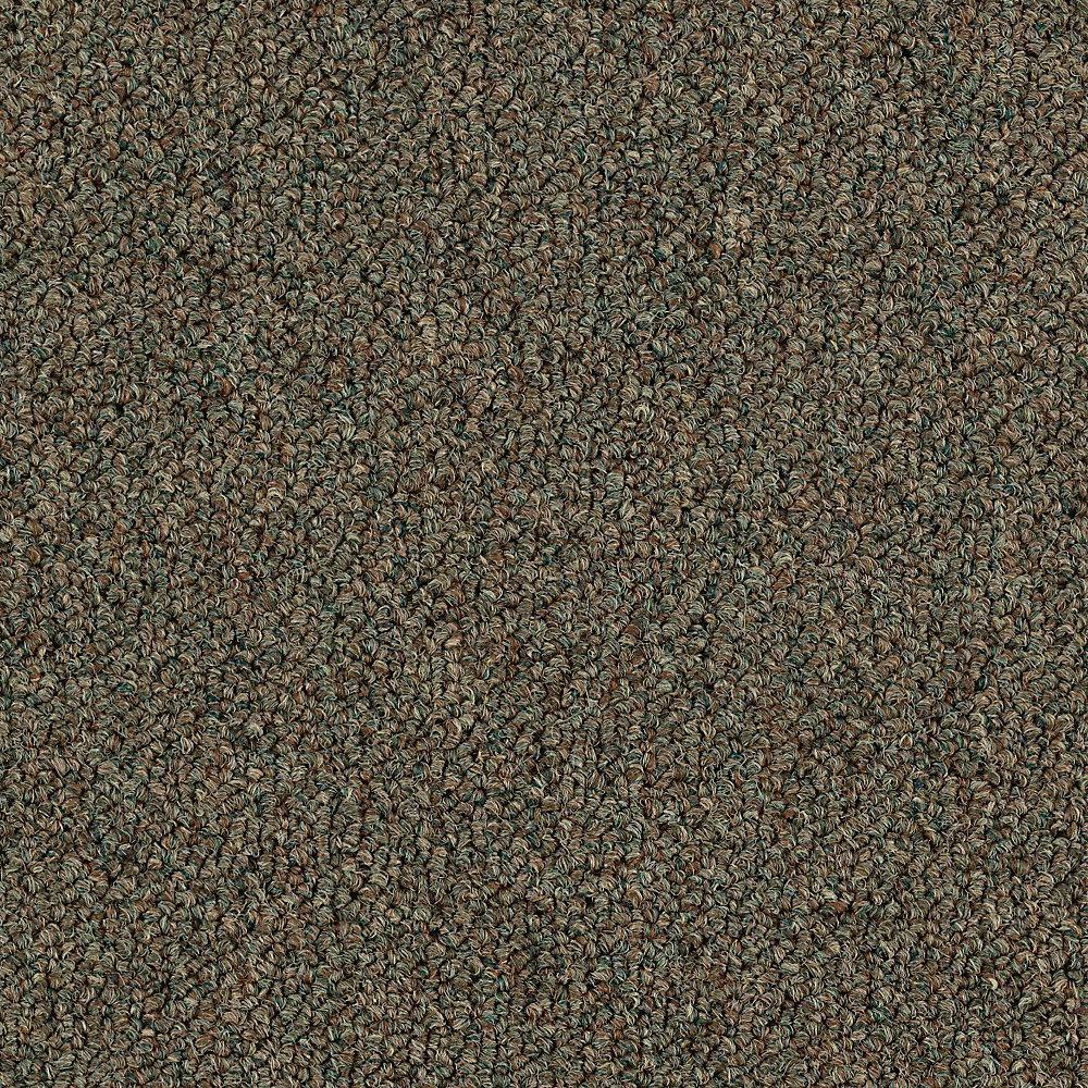 Carpet Sample - Top Rail 26 - Color Arugula Loop 8 in. x 8 in.