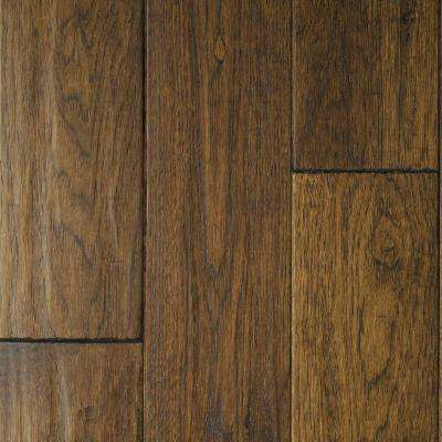 Hickory Sable Hand Sculpted 3/4 in. Thick x 4 in. Wide x Random Length Solid Hardwood Flooring (16 sq. ft. / case)