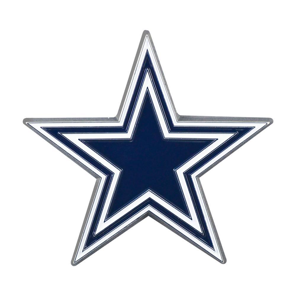 FANMATS NFL - Dallas Cowboys 3D Molded Full Color Metal ...