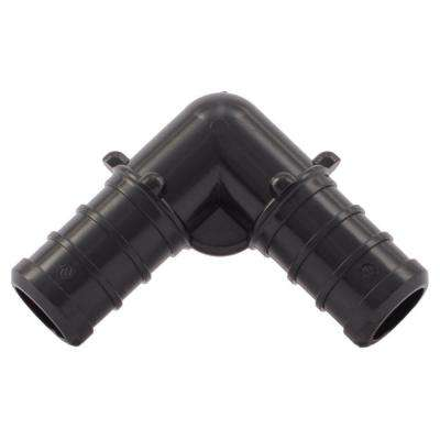 1/2 in. Plastic PEX 90-Degree Barb Elbow (5-Pack)