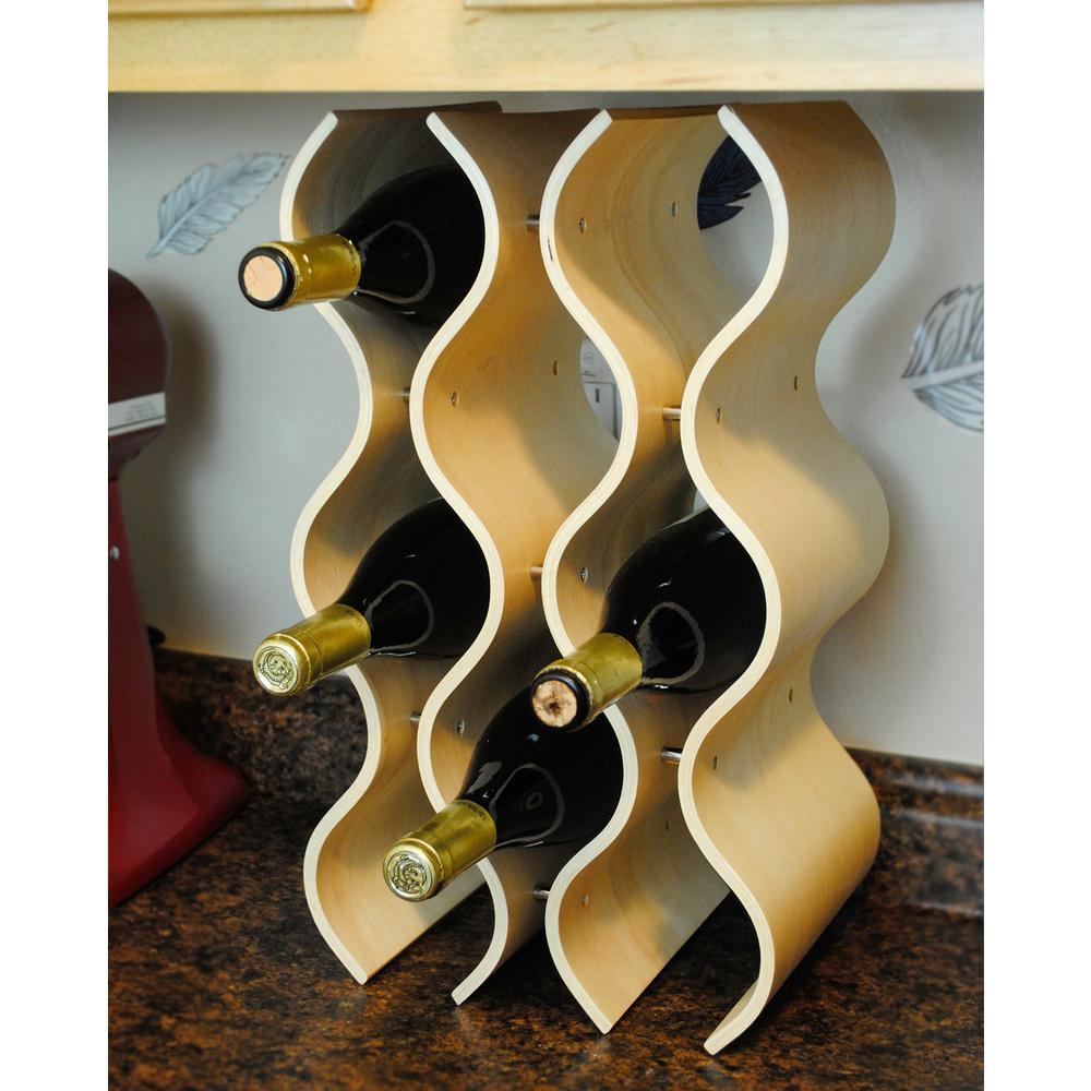 Bali 10-Bottle Natural Wine Rack