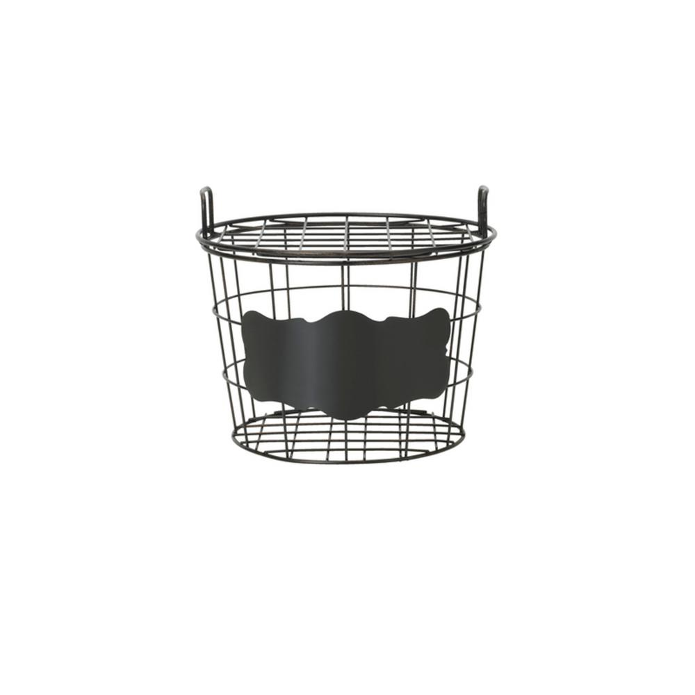 Chalk Board Set of 2 Organization Baskets