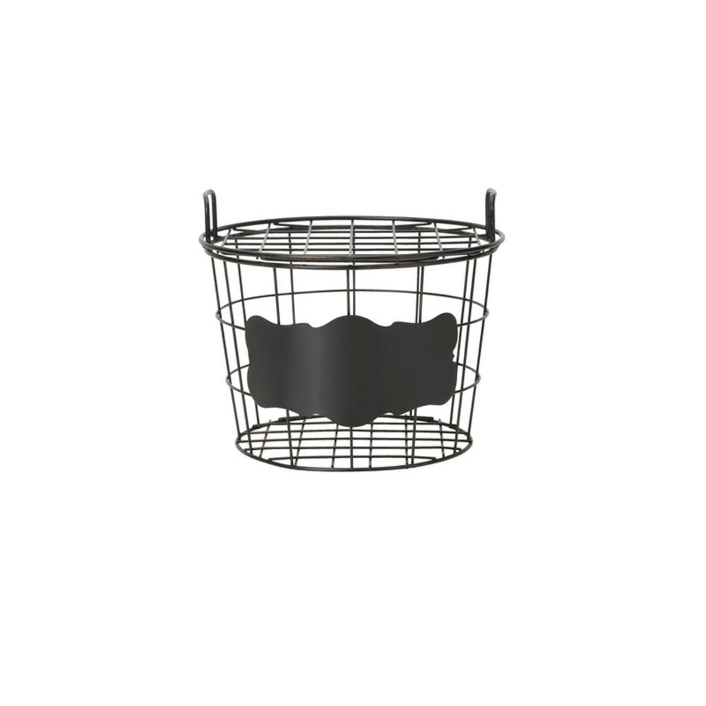 Gourmet Basics by Mikasa Chalk Board Set of 2 Organization Baskets