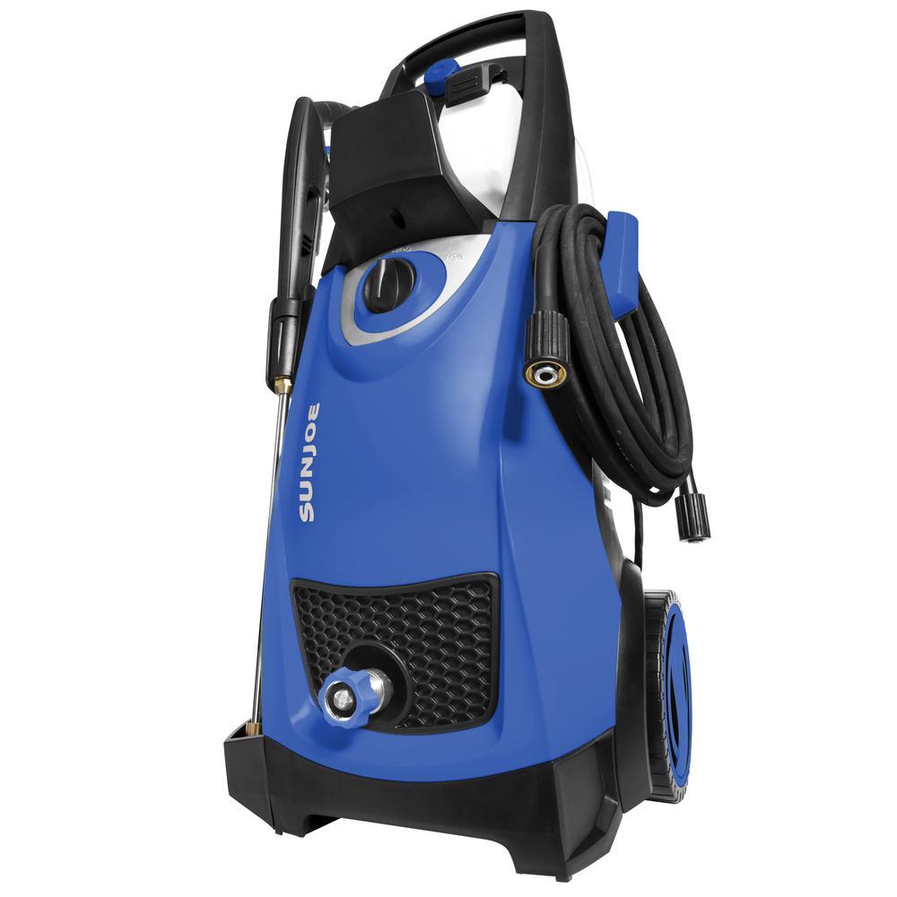 Sun Joe 2030 MAX PSI 1.76 GPM 14.5 Amp Electric Pressure Washer, Blue