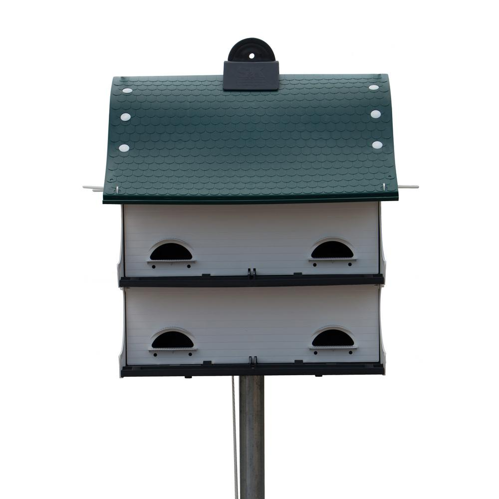 S/&K 12 Family Purple Martin Bird House Durable and Lightweight USA Made Best