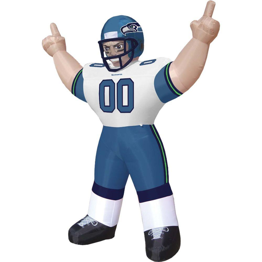 null 8 ft. Inflatable NFL Seattle Seahawks Player Tiny - $99 VALUE-DISCONTINUED