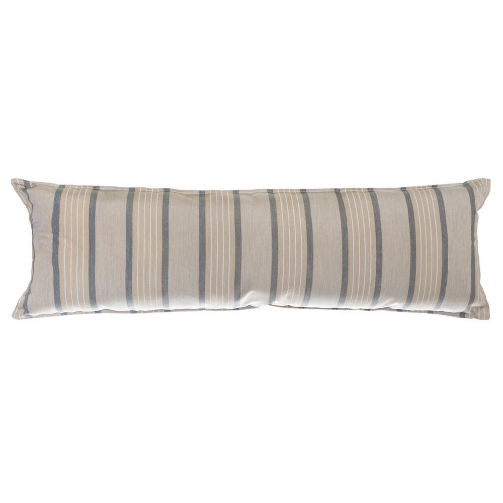 Long Hammock Pillow in Cove Pebble