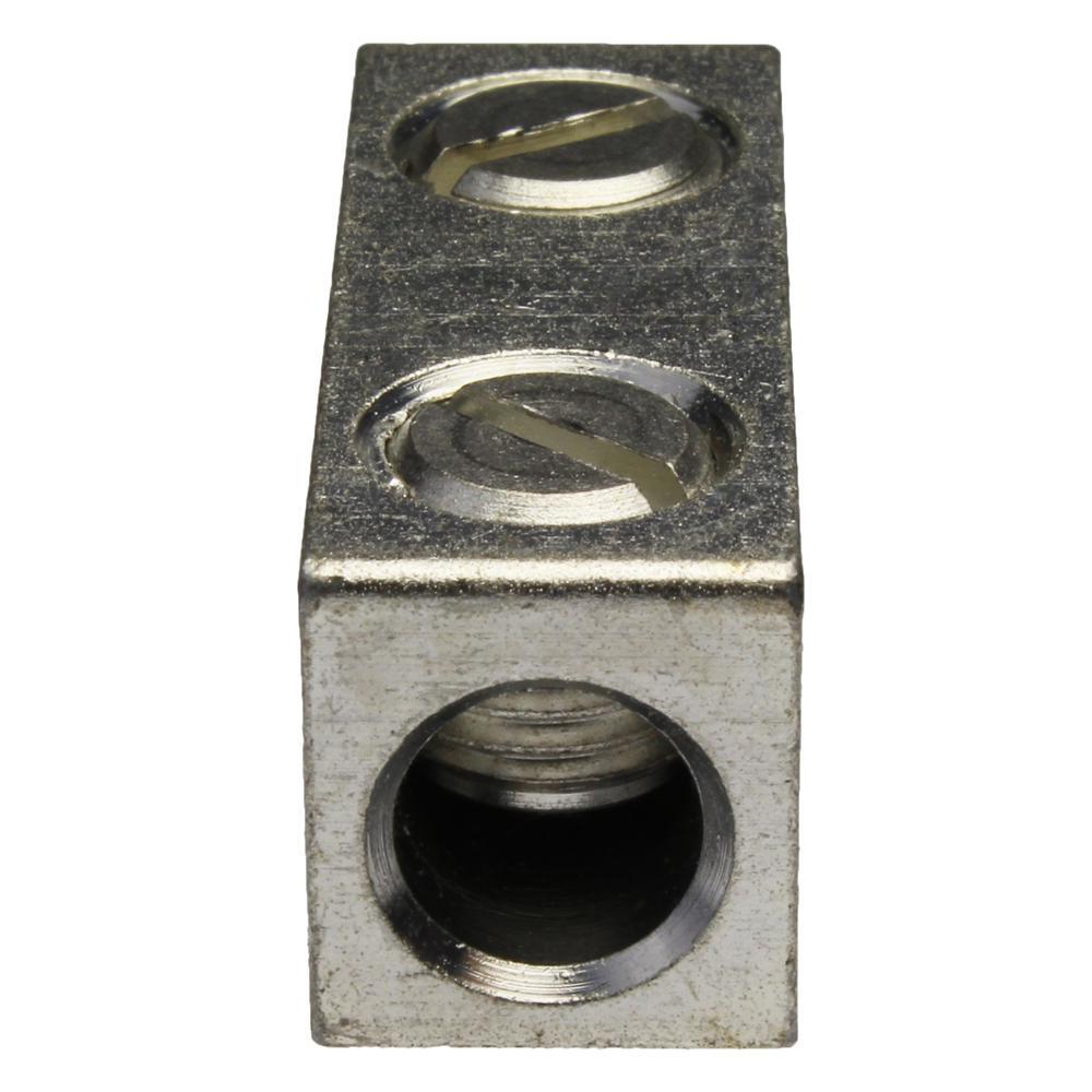 4/0-6 AWG Alum IN-LN Splicer/Reducer (10-Pack)
