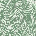 Fifi Green Palm Frond Paper Strippable Wallpaper (Covers 56.4 sq. ft.)