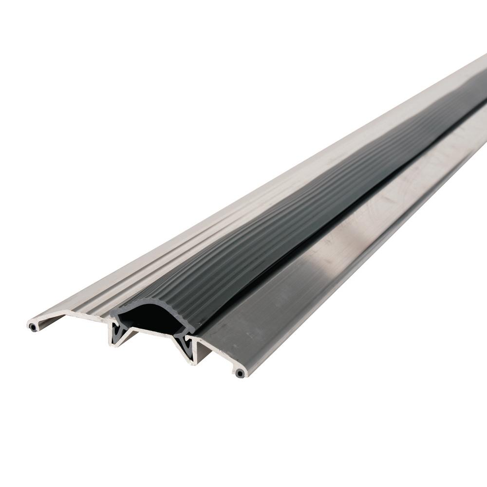 M-D Building Products 6 ft. x 3-3/4 in. x 3/4 in. Vinyl and Aluminum Threshold