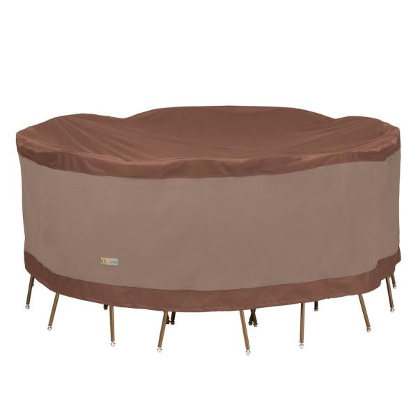 Ultimate 96 in. Dia x 29 in. H Round Table and Chair Set Cover