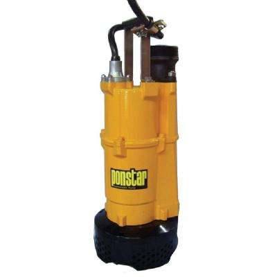 3 in. 2HP 120/240-Volt Submersible Pump