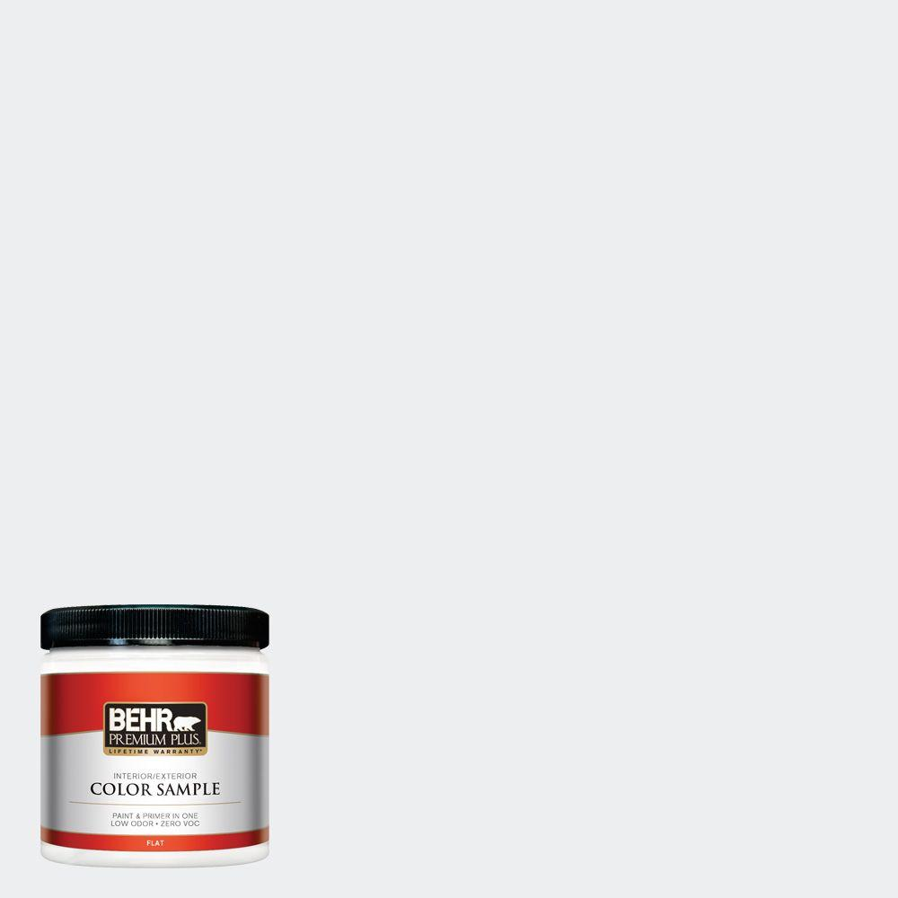BEHR Premium Plus 8 oz. #PWN-16 Day Spa Zero VOC Interior/Exterior Paint Sample