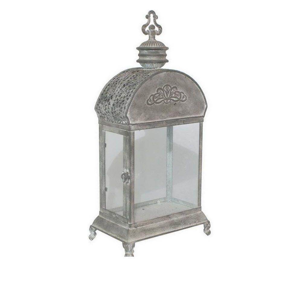 Home Decorators Collection Andra 23 in. H x 7 in. W Candleholder