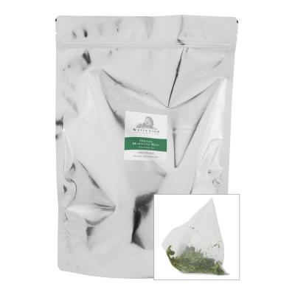 Tea Organic Moroccan Mint Bulk Sachets Food Service Tea Bags (200 per Pack)