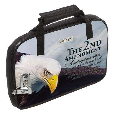 13.75 x 9.5 x 3.75 in. Locking Soft-Sided Handgun Case