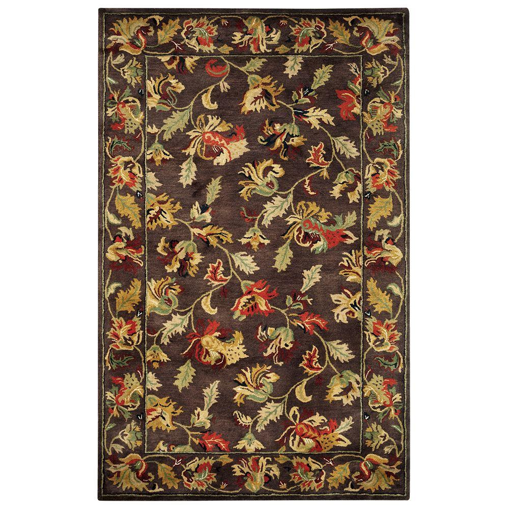 Home Decorators Collection Governor Brown 3 ft. x 5 ft. Area Rug