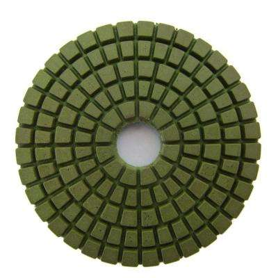 3 in. #1500 Grit Wet Diamond Polishing Pad for Stone