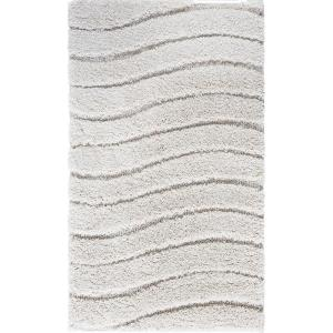 Tayse Rugs Berkshire Shag Cream 2 ft. x 3 ft. 3 inch Accent Rug by Tayse Rugs